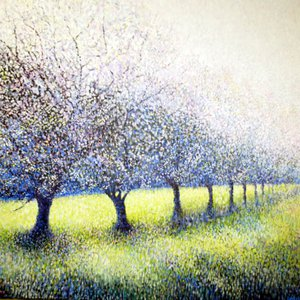 The Cherry Orchard / La Cerisier, Guilliers by Guy Manning
