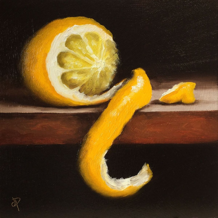 Peeled Lemon #5 - Image 0