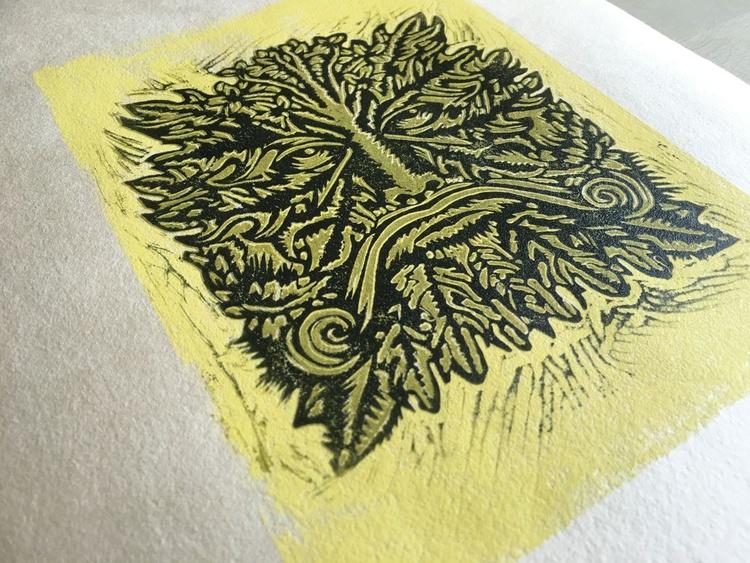 Floret Headed Man - Spring (Four Seasons) - Image 0