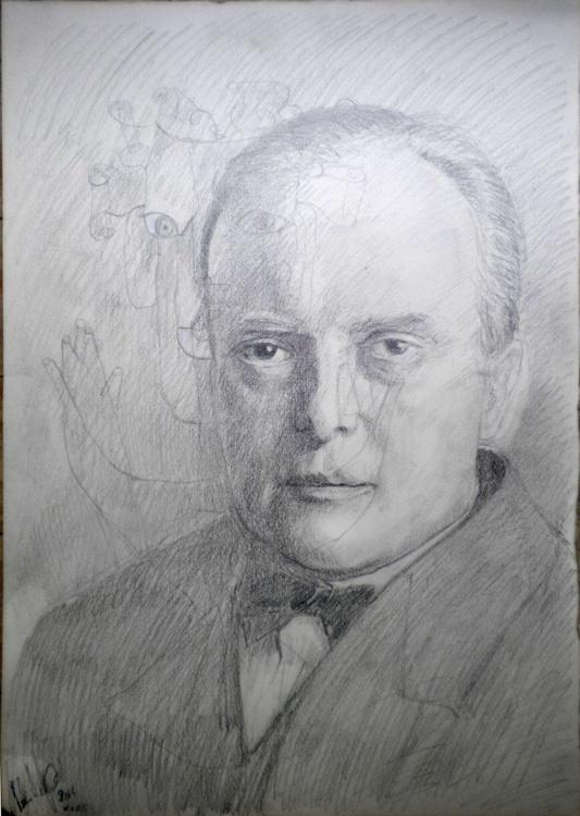 Portrait of Paul Klee - Image 0