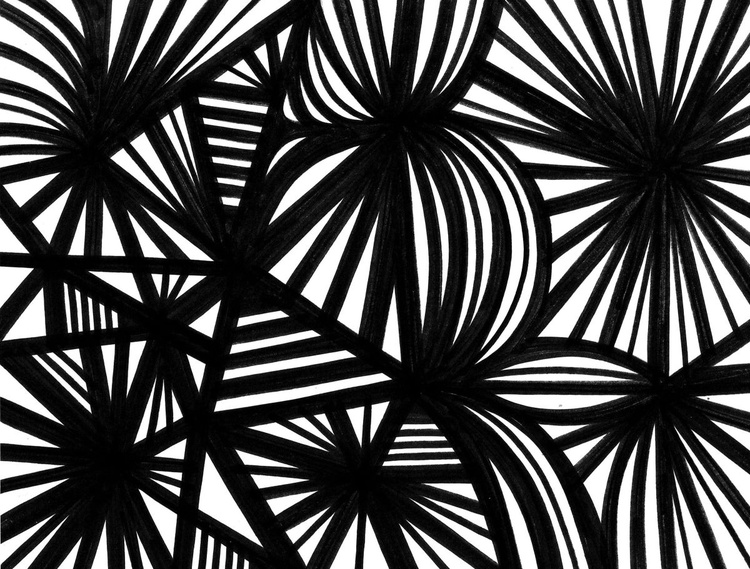 Parsimonious Abstraction Original Drawing - Image 0