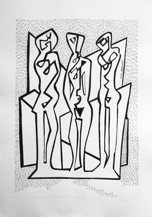 Three Muses - Image 0