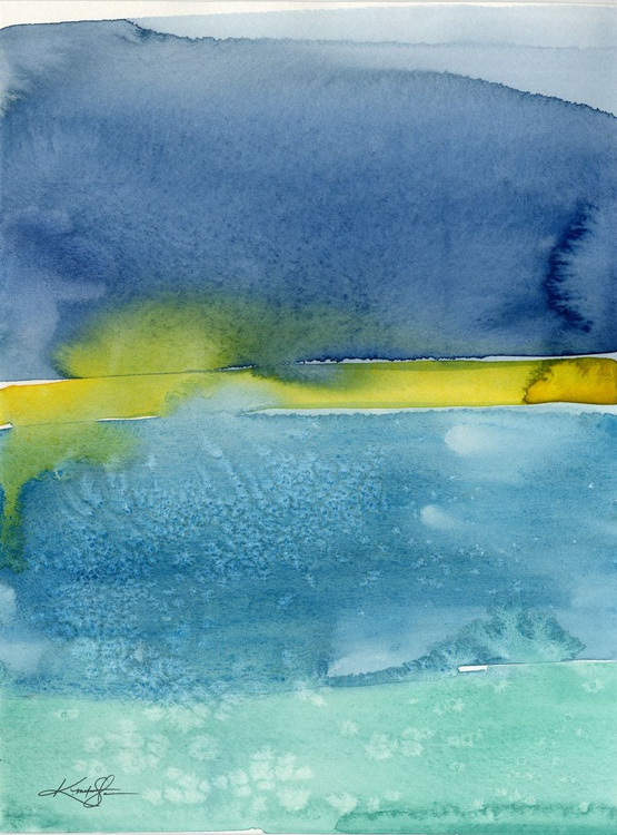 Finding Harmony 8 - Abstract Watercolor Painting - Image 0