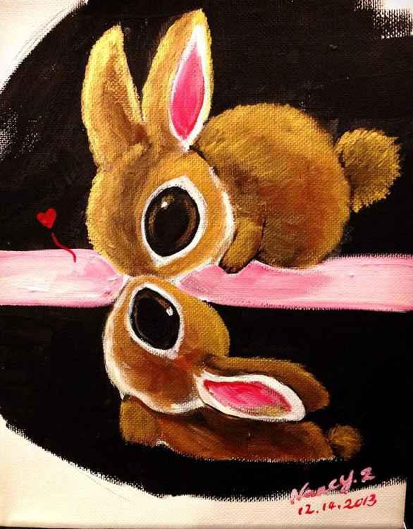 Kiss bunnies