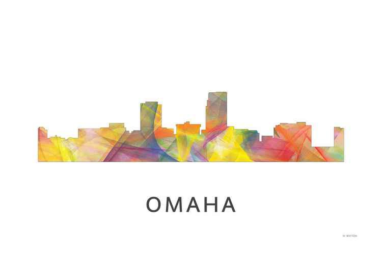 Omaha Nebraska Skyline WB1 -