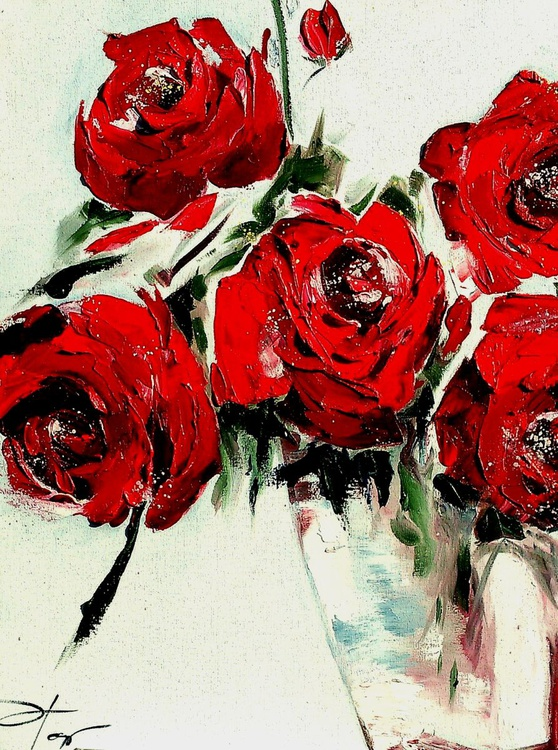Red rosses - Image 0