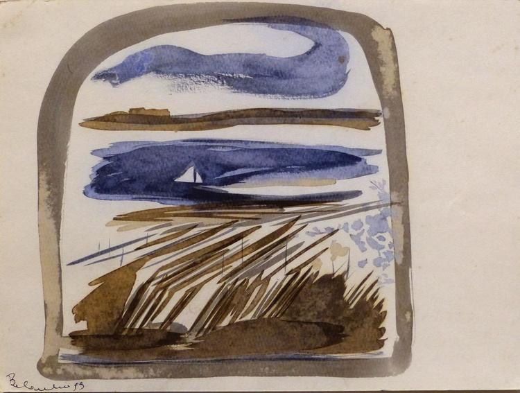 Seascape  #6, 24x32 cm - Image 0