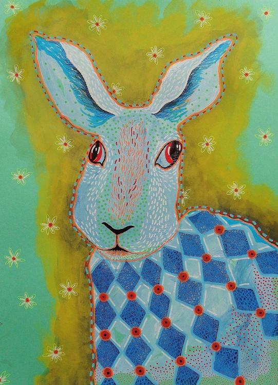 Harlequin Hare - Image 0