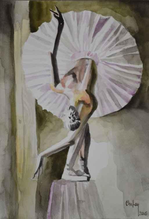 WHITE BALLERINA -