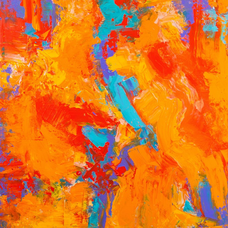 Tangerine Dreams 24x24 inches - Image 0