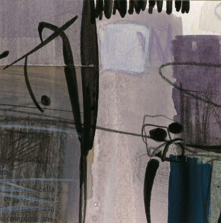 Abstraction 16 - 44 - Abstract Mixed Media Painting - Image 0
