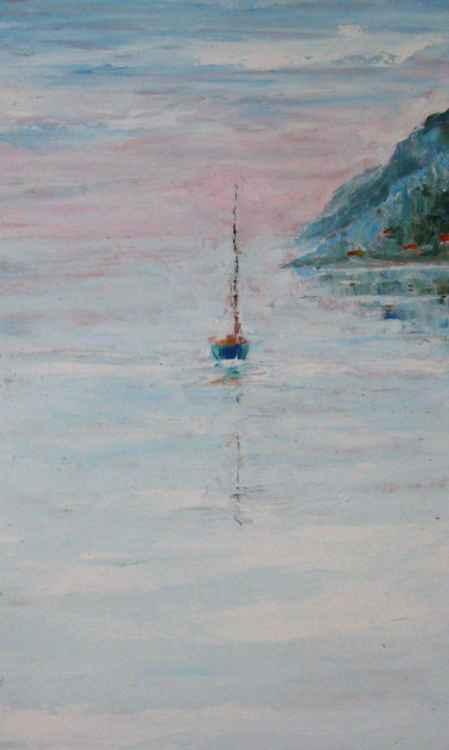 Leaving Collioure -