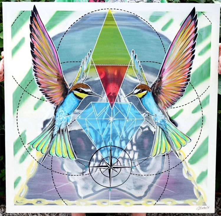 Diamonds are a birds best friend - Image 0