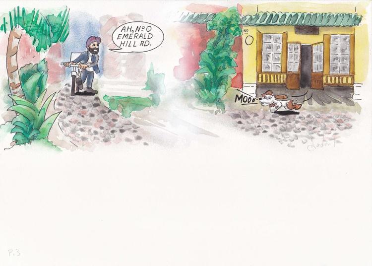 Doggy Daze, page 3 - Image 0