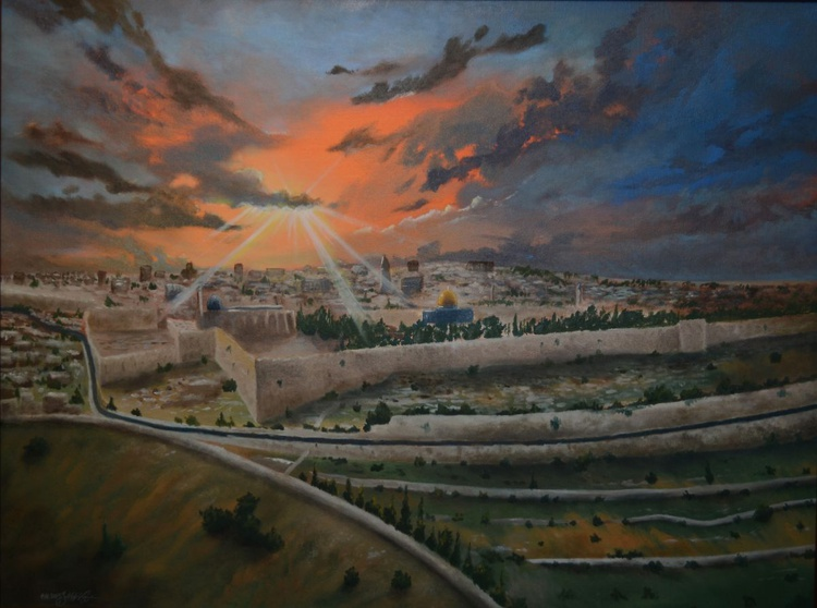 Sunset on Jerusalem - Image 0