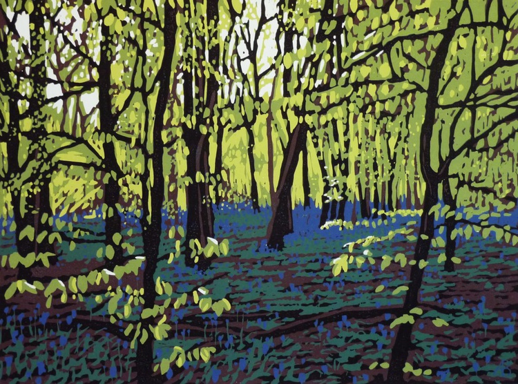 Bluebells on a Bright Day - Image 0