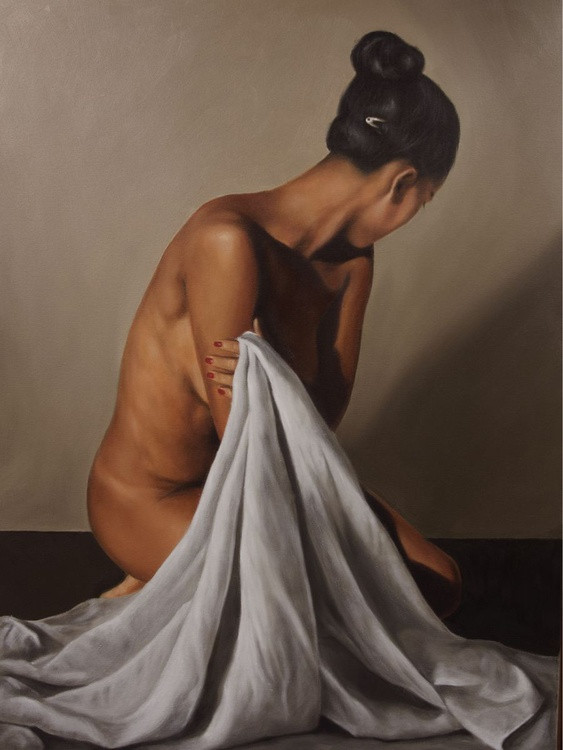 Nude and drape - Image 0