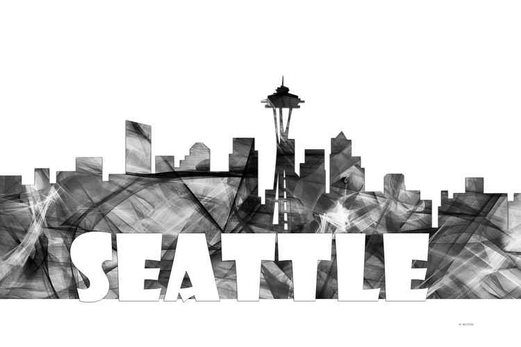 Seattle Washington Skyline BG2 -