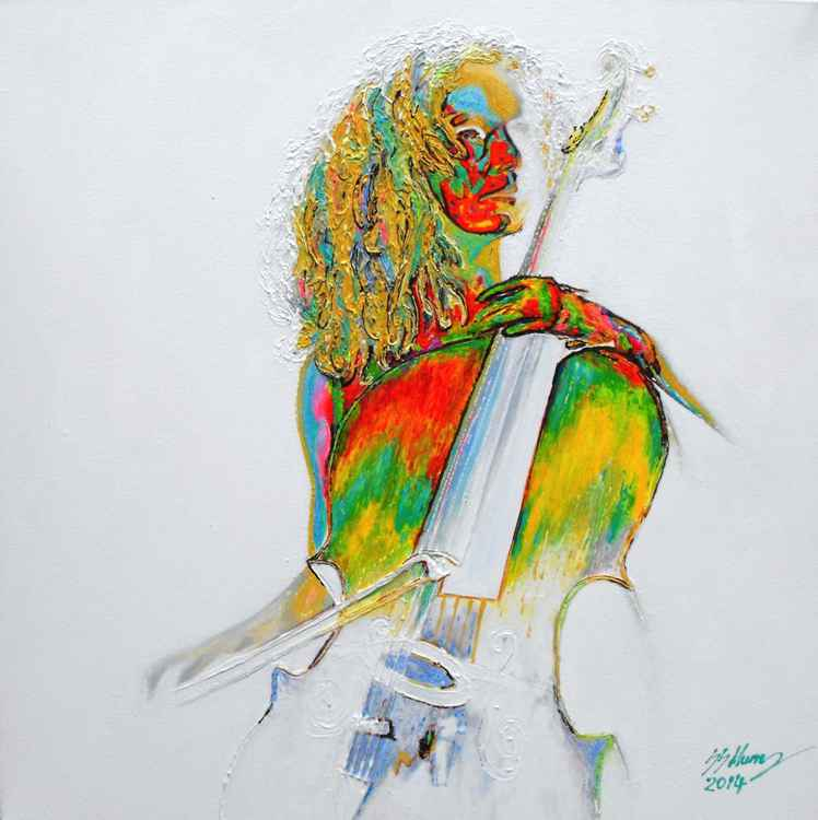 The Colours of Music 5; The Cellist: