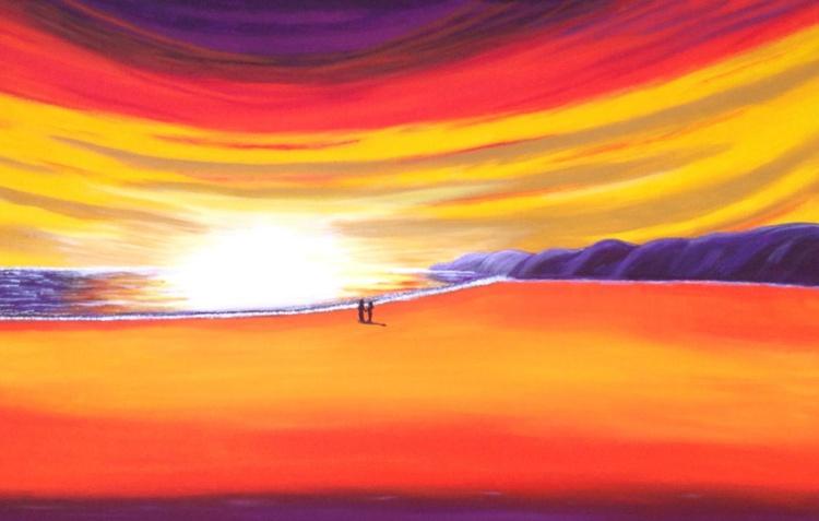 Romance At Sunset - Image 0