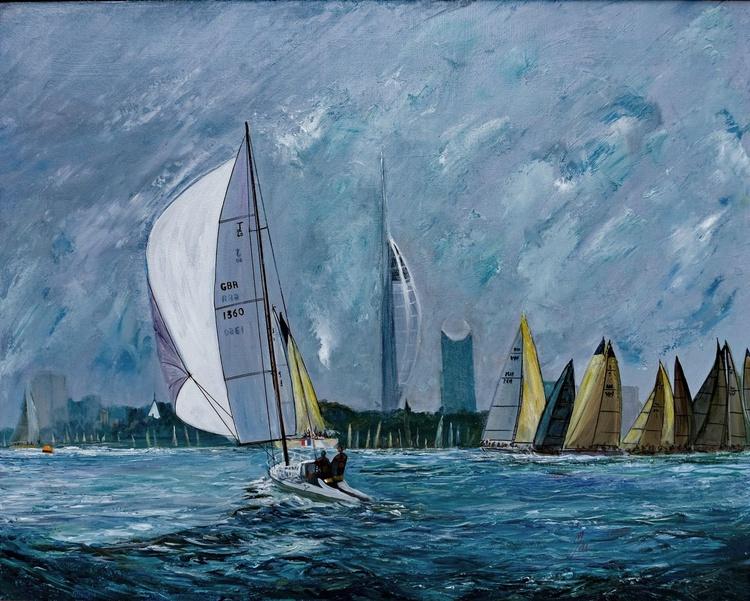 Sailing under the Spinnaker - Image 0