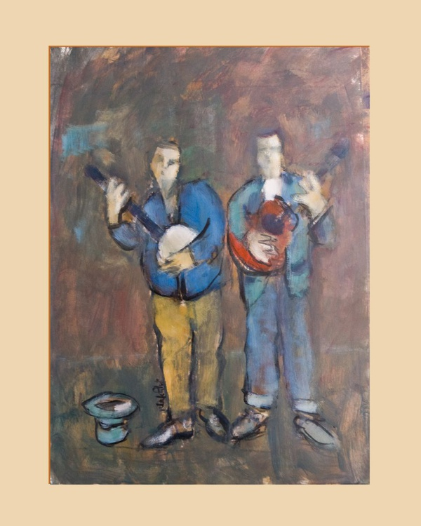 Two Buskers - Image 0