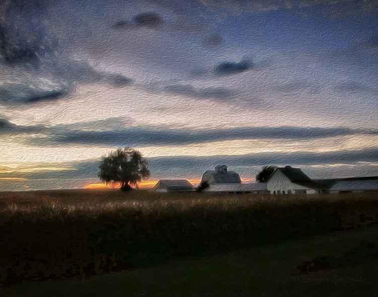 September on a Prairie Farm