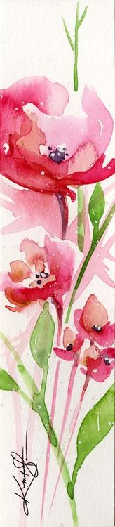 Itsy Bitsy Blossoms 5 - Original Tiny Watercolor - Image 0