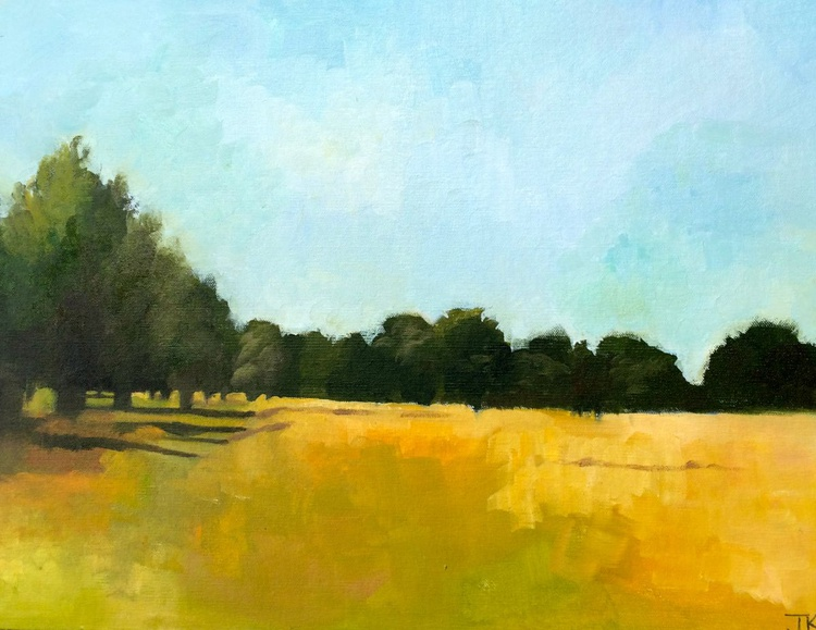 SUMMER IN THE PARK: OIL STUDY - Image 0