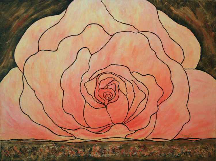 Rose painting.... -