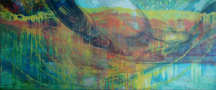 """Clearing"" diptych -"