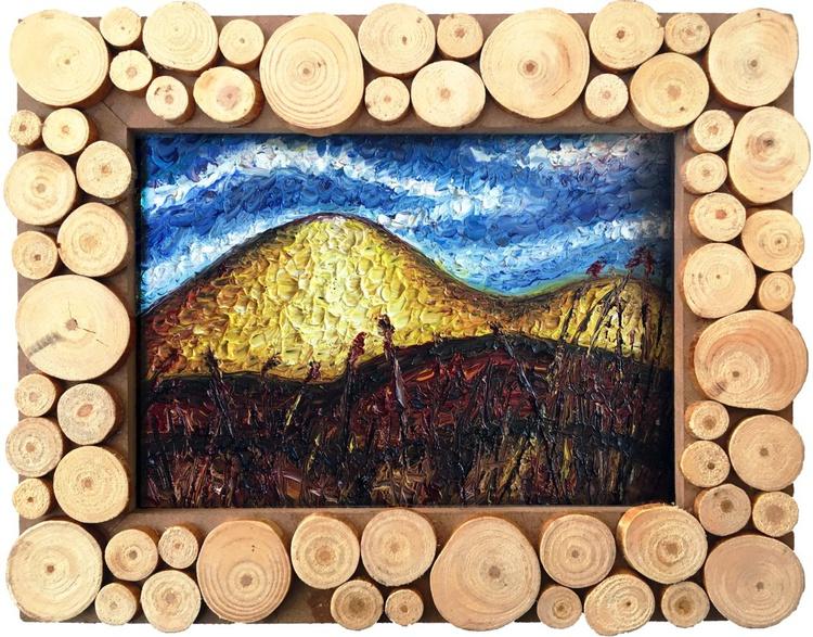 """The Palouse Redux"" - PMS Micro Painting - Image 0"