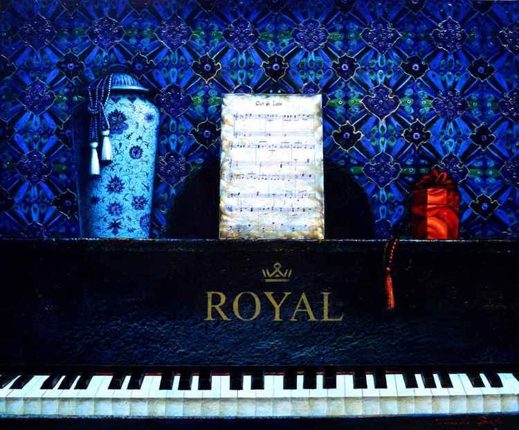 Oriental Blue -