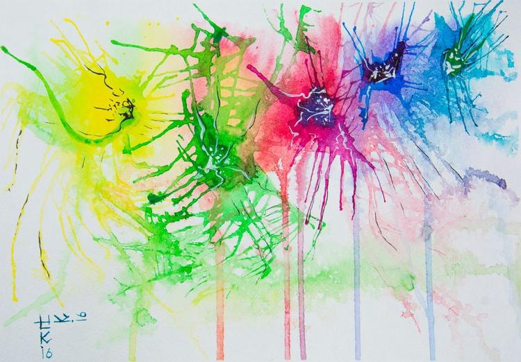 Watercolor fantasy - Image 0