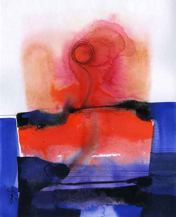 Watercolor Abstraction No. 125