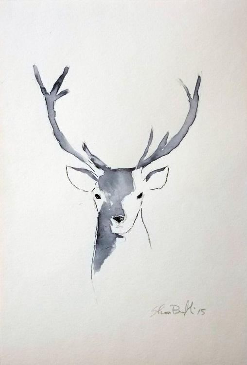 The deer in blue - Image 0
