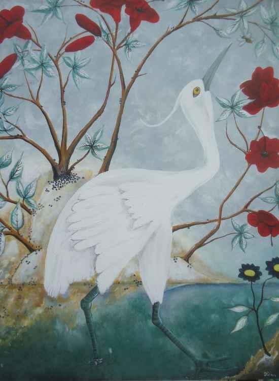 Zen Crane Flower