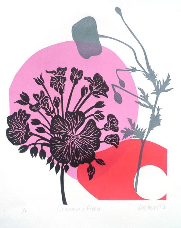 Geranium & Poppy - Image 0