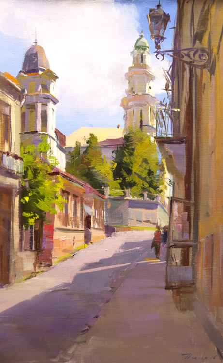 Cityscape Painting -