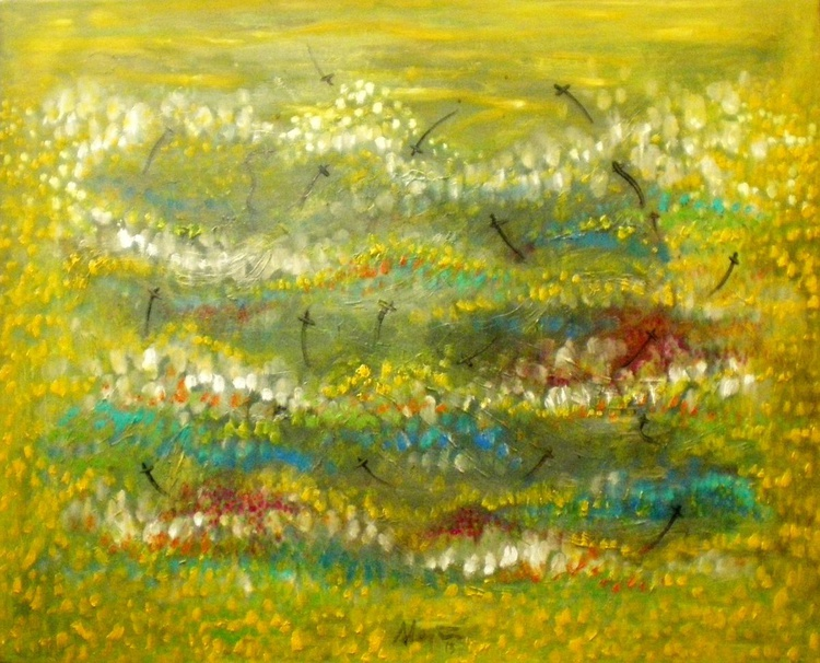 The yellow fields - Image 0