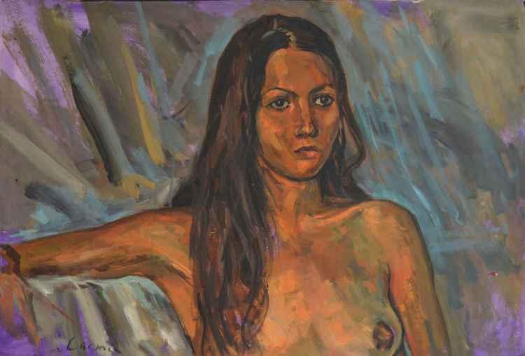 Carmen On Wild Brushstrokes