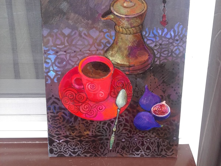 Coffee in the red Cup - Image 0