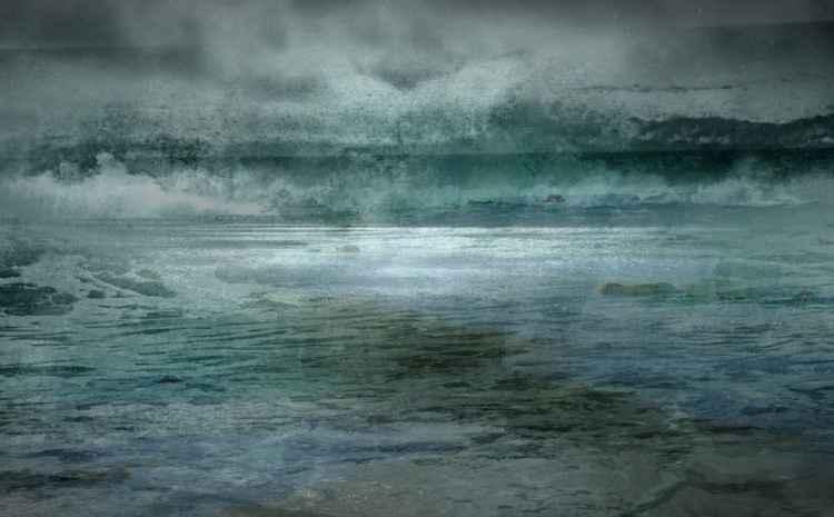 Cyan Sea -