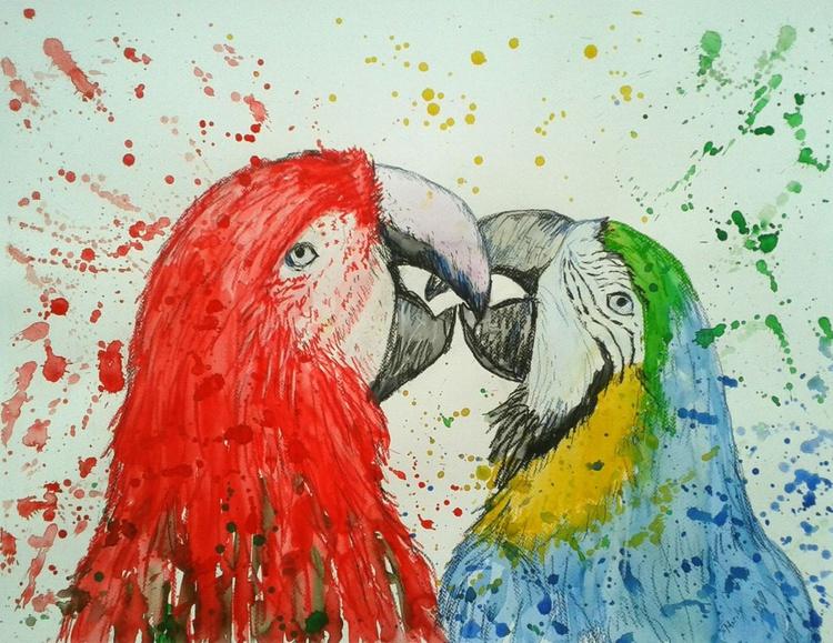 """Parrot love"" - Image 0"