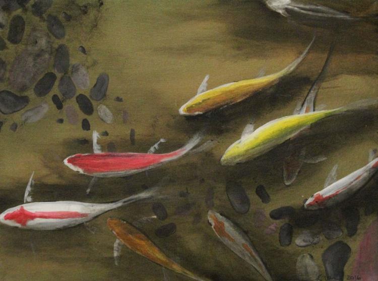 Pond Fish Subtle Gold II - Image 0