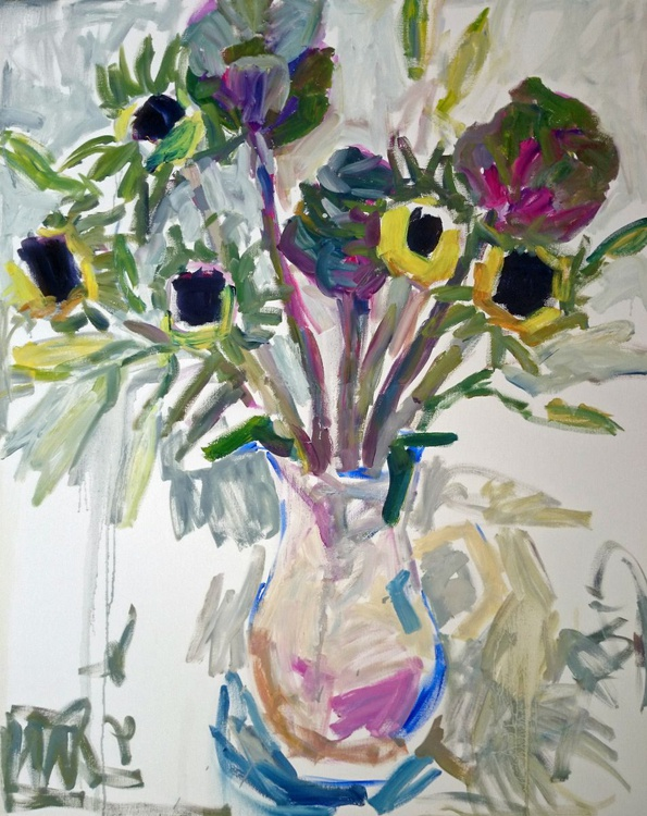 Cabbages and sunflowers in the jug - Image 0