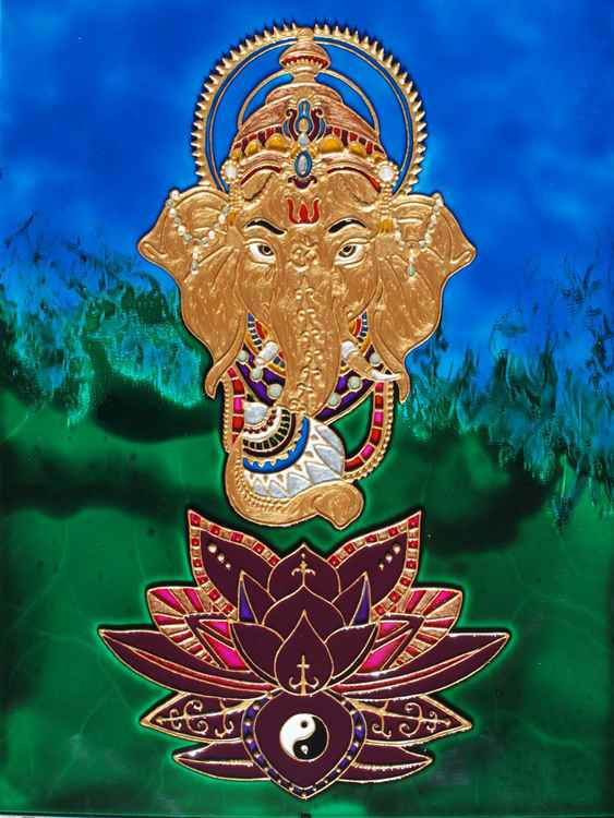 Golden Ganesha -