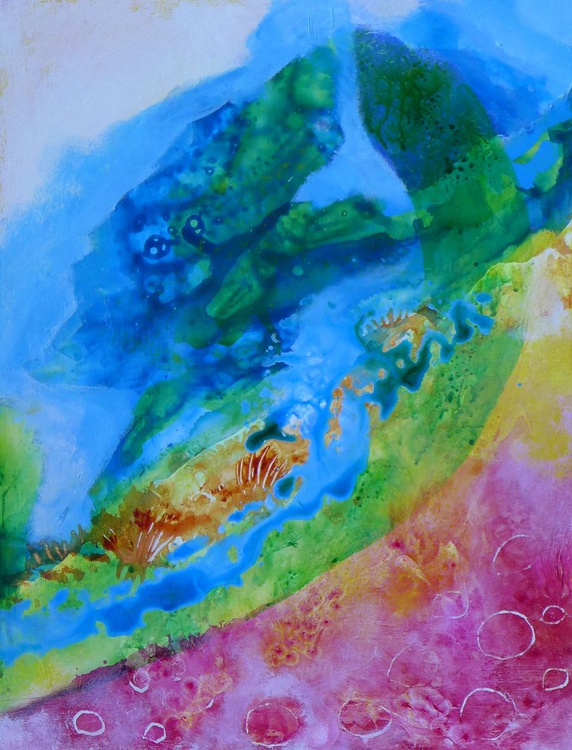 """Summer Day - 12"""" x 16"""" - Image 0"""