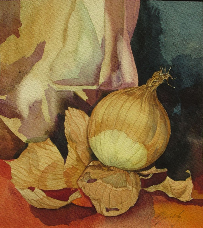still life with onion - Image 0