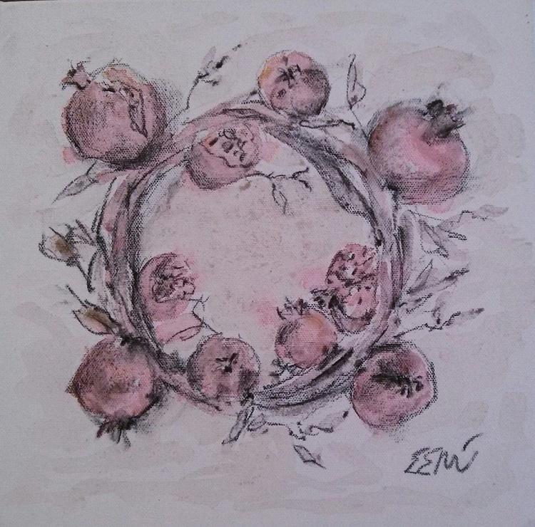 wreth of pomegranates - Image 0